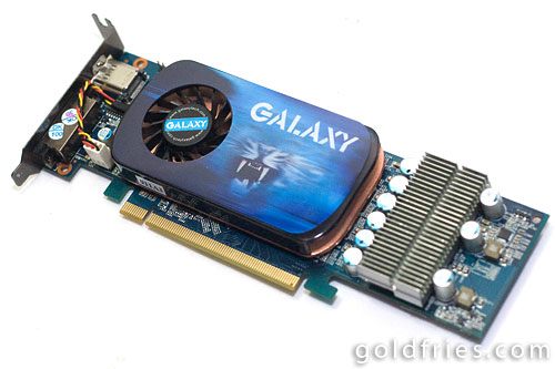 Galaxy Geforce 9600GT 512MB LowPower LowProfile Graphic Card Review