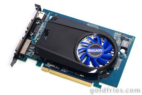 Galaxy Geforce GT220 OC Edition 1GB DDR3 Graphic Card Review