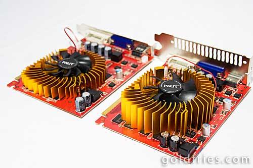 Palit 9500GT 256MB DDR3 vs HD4650 512MB DDR2 Comparison