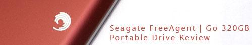 Seagate FreeAgent | Go 320GB Portable Drive Review