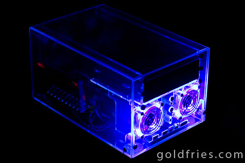 Sunbeamtech Acrylic Mini-ITX Casing Review