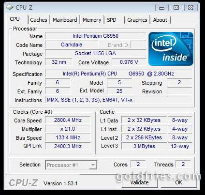 Intel Pentium G6950 Processor Review