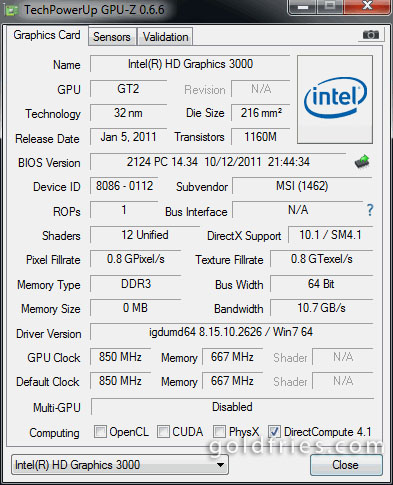 Intel® HD Graphics 3000 Review