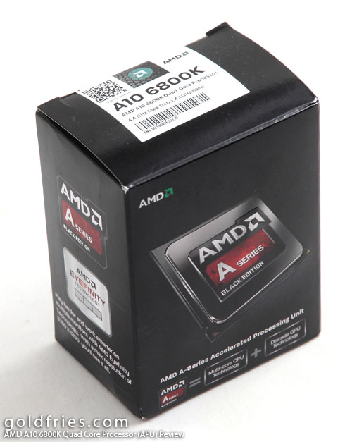 AMD A10 6800K Quad Core Processor (APU) Review