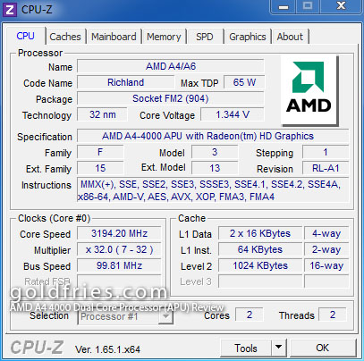 AMD A4 4000 Dual Core Processor (APU) Review