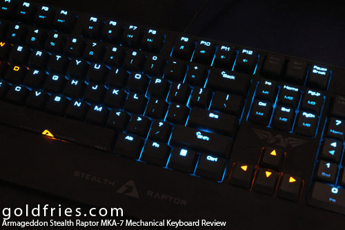 Armaggeddon Stealth Raptor MKA-7 Mechanical Keyboard Review
