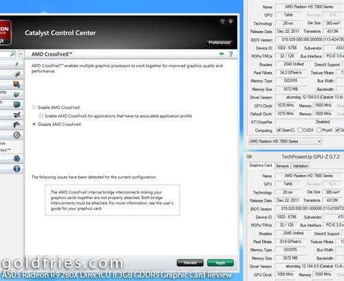ASUS Radeon R9 280X DirectCU II 3GB GDDR5 Graphic Card Review