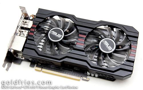 ASUS GeForce® GTX 650 Ti Boost ( GTX650TIB-DC2OC-2GD5 ) Graphic Card Review