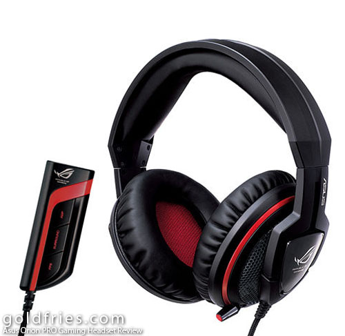 Asus Orion PRO Gaming Headset Review