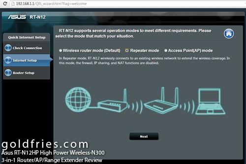 Asus RT-N12HP High Power Wireless-N300 3-in-1 Router/AP/Range Extender Review