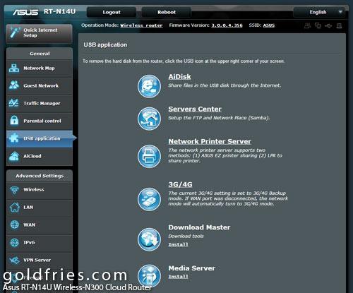Asus RT-N14U Wireless-N300 Cloud Router 3