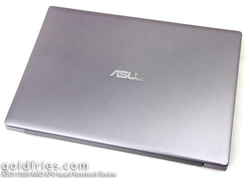 ASUS U38N AMD APU-based Notebook Review