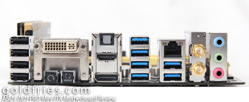 ASUS Z87I-PRO Mini-ITX Motherboard Review