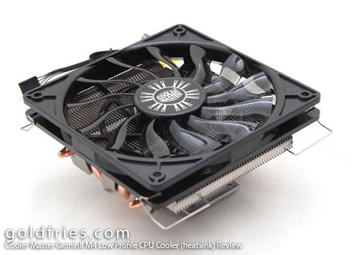 Cooler Master GeminII M4 Low Profile CPU Cooler (heatsink) Review