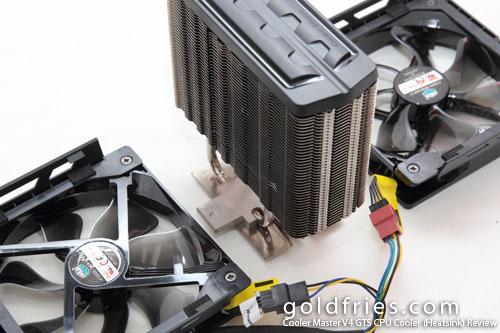 Cooler Master V4 GTS CPU Cooler (Heatsink) Review