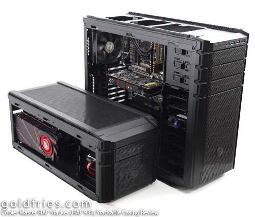 Cooler Master HAF Stacker (HAF 935) Stackable Casing Review