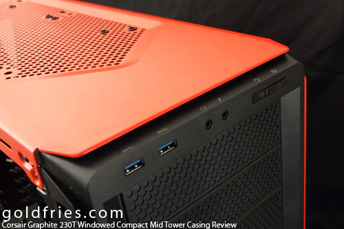 Corsair Graphite 230T Windowed Compact Mid Tower Casing Review