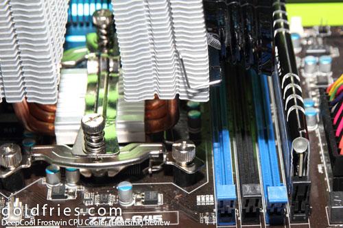 DeepCool Frostwin CPU Cooler (Heatsink) Review