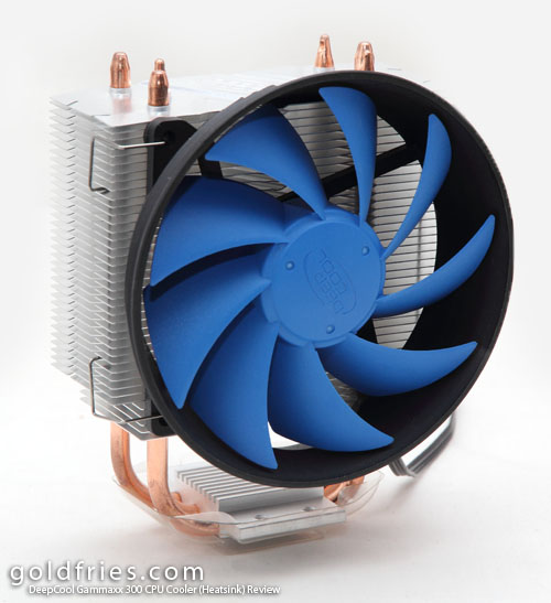 DeepCool Gammaxx 300 CPU Cooler (Heatsink) Review