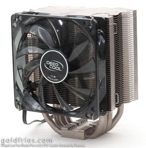 DeepCool Ice Blade Pro v2.0 CPU (heatsink) Cooler Review