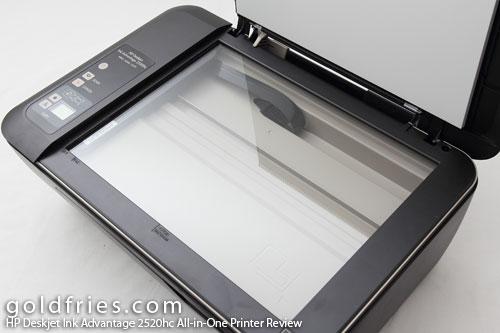 HP Deskjet Ink Advantage 2520hc All-in-One Printer Review