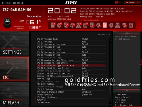 MSI Z87-G45 GAMING Intel Z87 Motherboard Review
