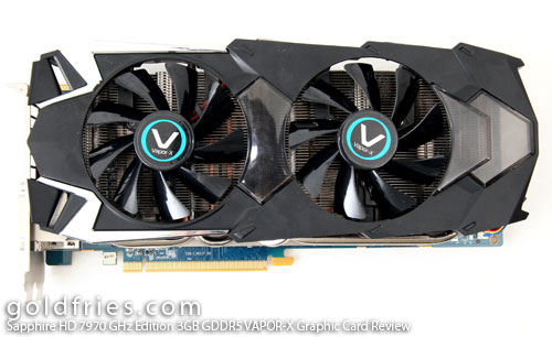 Sapphire HD 7970 GHz Edition 3GB GDDR5 VAPOR-X Graphic Card Review