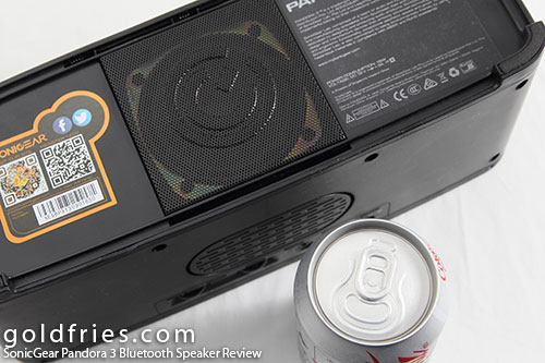 SonicGear Pandora 3 Bluetooth Speaker Review 5