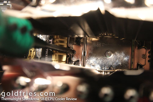 Thermalright SilverArrow SB-E CPU Cooler Review