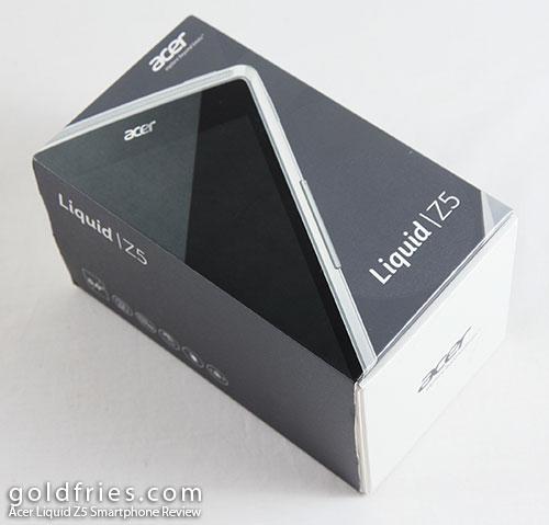 Acer Liquid Z5 Smartphone Review