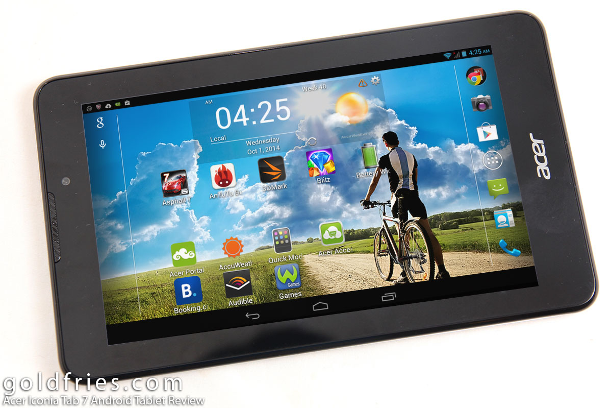 Acer Iconia Tab 7 Android Tablet Review