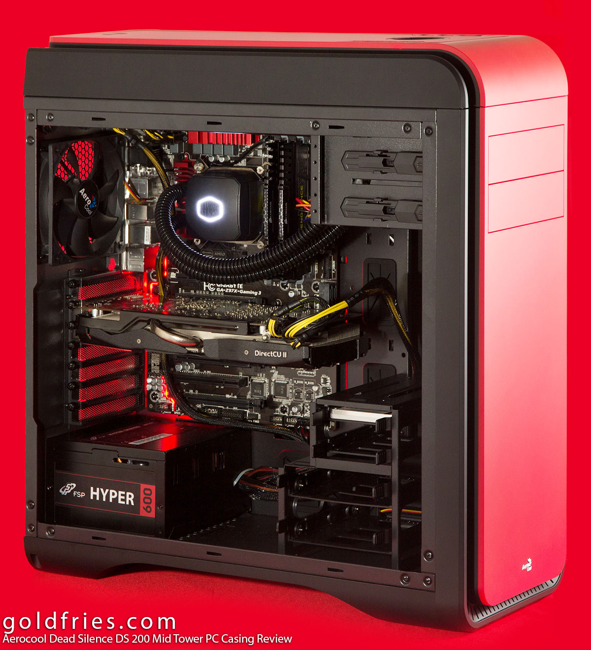 Aerocool Dead Silence DS 200 Mid Tower PC Casing Review