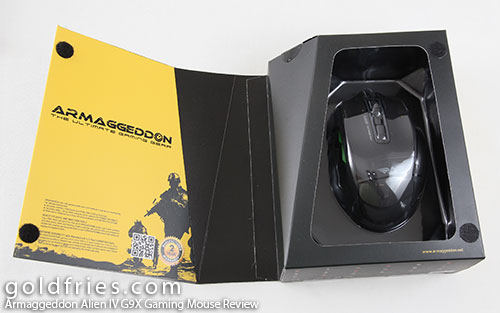 Armaggeddon Alien IV G9X Gaming Mouse Review