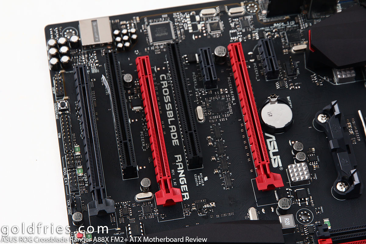 ASUS ROG Crossblade Ranger A88X FM2+ ATX Motherboard Review