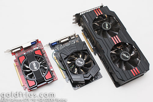 ASUS GeForce GTX 750 1GB GDDR5 Review