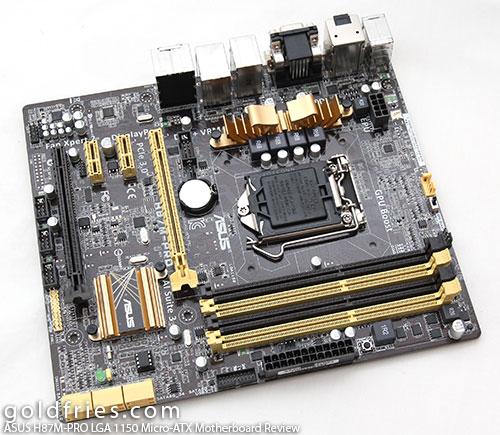 ASUS H87M-PRO (Intel LGA 1150) Micro-ATX Motherboard Review 1