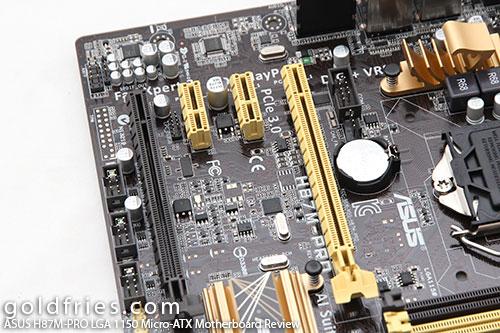 ASUS H87M-PRO (Intel LGA 1150) Micro-ATX Motherboard Review 5