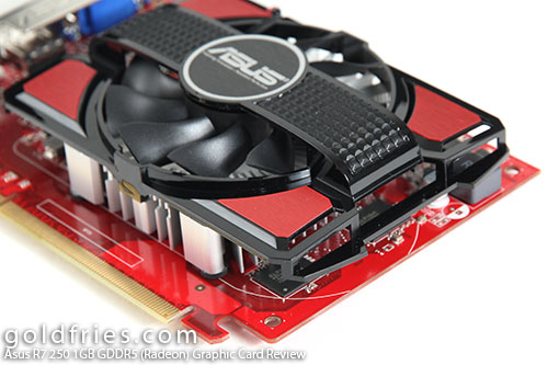 Asus R7 250 1GB GDDR5 (Radeon) Graphic Card Review