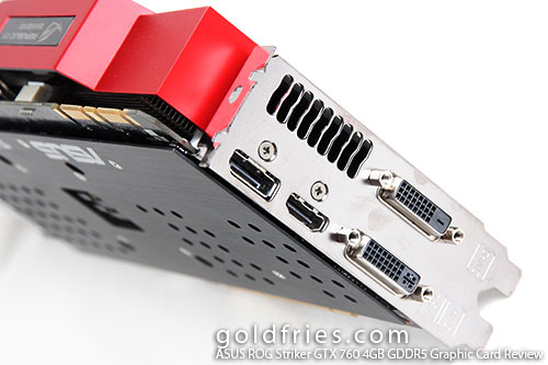 ASUS ROG Striker GTX 760 4GB GDDR5 Graphic Card Review