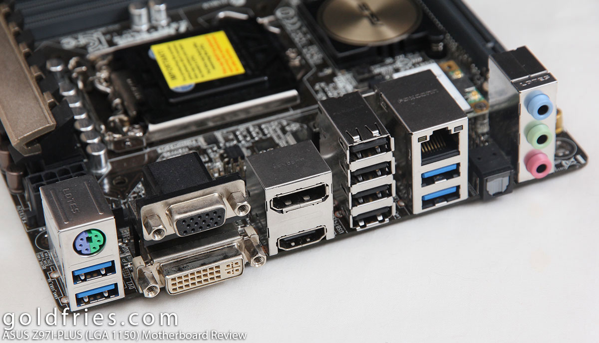 ASUS Z97I-PLUS (LGA 1150) Motherboard Review