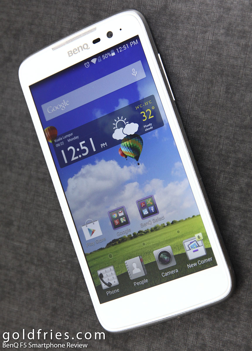 BenQ F5 Smartphone Review