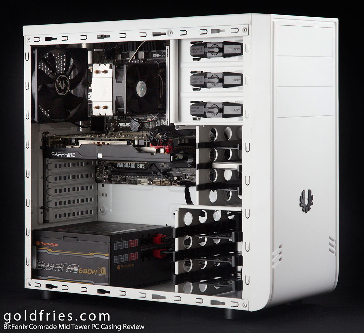BitFenix Comrade Mid Tower PC Casing Review