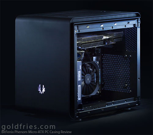 BitFenix Phenom Micro-ATX PC Casing Review