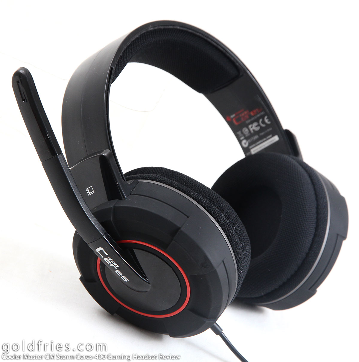 Cooler Master CM Storm Ceres-400 Gaming Headset Review 1