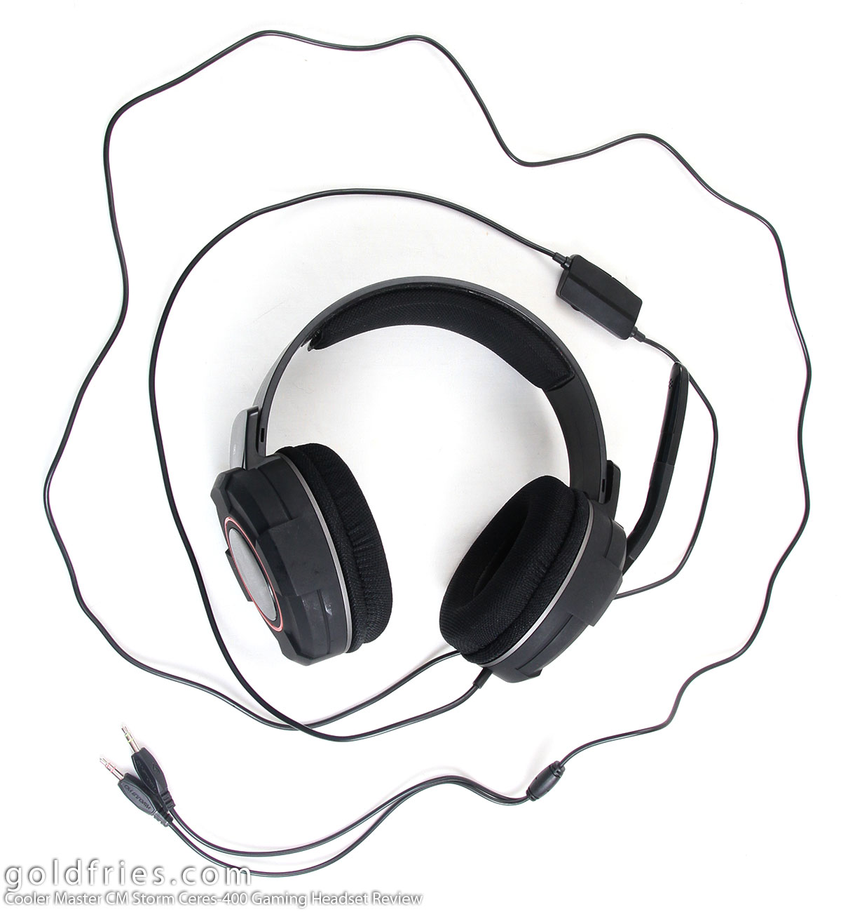 Cooler Master CM Storm Ceres-400 Gaming Headset Review 6