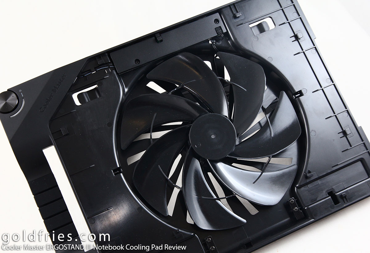 Cooler Master ERGOSTAND III Notebook Cooling Pad Review
