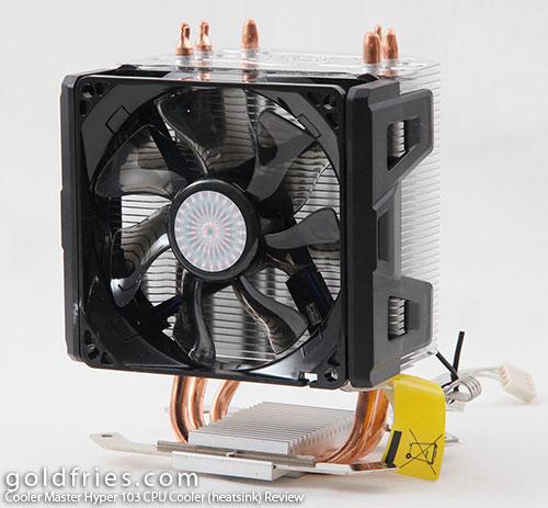 Cooler Master Hyper 103 CPU Cooler (heatsink) Review