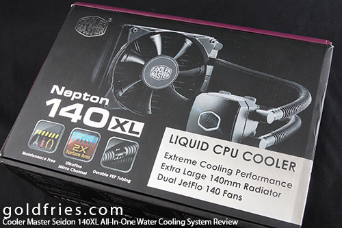 Cooler Master Seidon 140XL All-In-One Water Cooling System Review