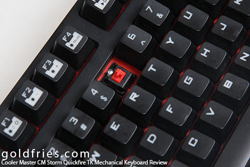 Cooler Master CM Storm Quickfire TK Mechanical Keyboard Review