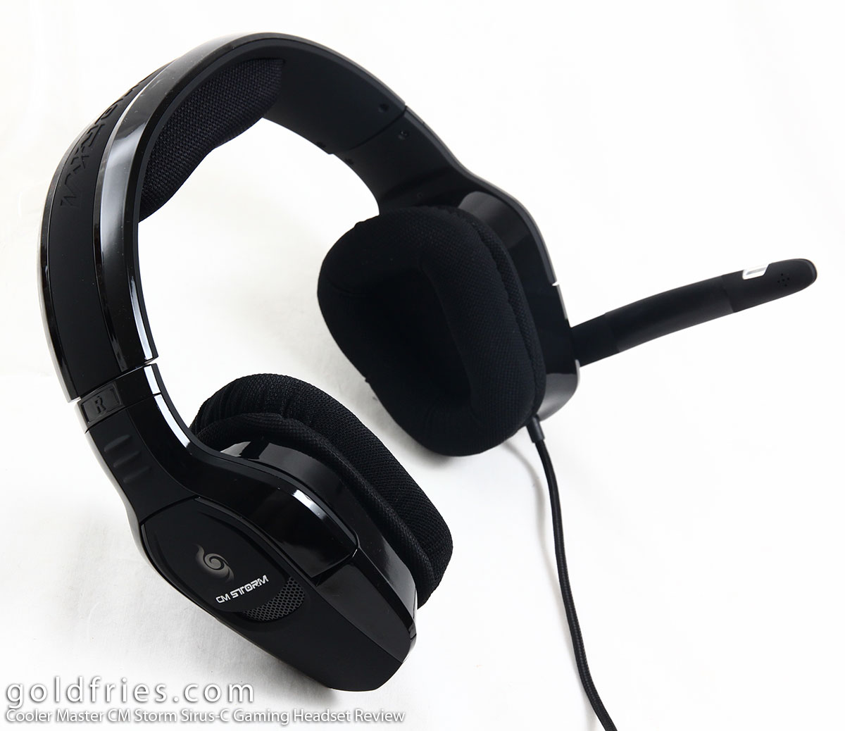 Cooler Master CM Storm Sirus-C Gaming Headset Review